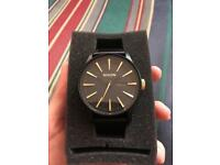 Nixon watch sentry leather 42 mm
