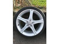 "17"" Asa alloy wheels"
