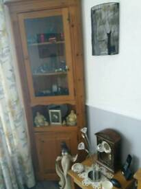 Real wood corner unit £30 each or both £60