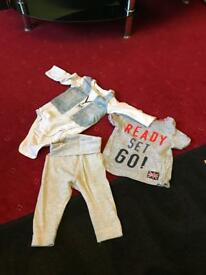 Baby boy clothes bundle 0-3, 3-6