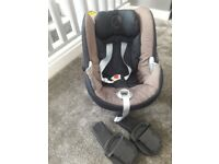 Cybex car seat and adapters