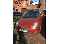 Ford Fiesta with 11 months MOT with part service history. 2 lady owners. Excellent first car