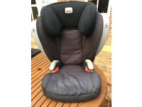 Britax Kid Plus SICT High Backed Booster Group 2 3 car seat, 15-36kg, side impact cushions