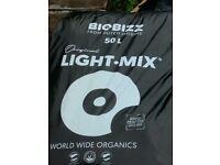 Hydroponics - 6 unopened bags of Holland Bio Biz compost 50L