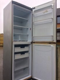 HOTPOINT 6FT SILVER FRIDGE FREEZER FREE DELIVERY