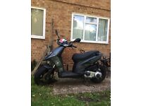 Piaggio typhoon 125 16 plate for sale