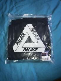 PALACE Skateboards Basically A Crew Navy