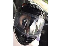 SHOEI NXR Gloss Black Helmet XXS - Almost Brand New!