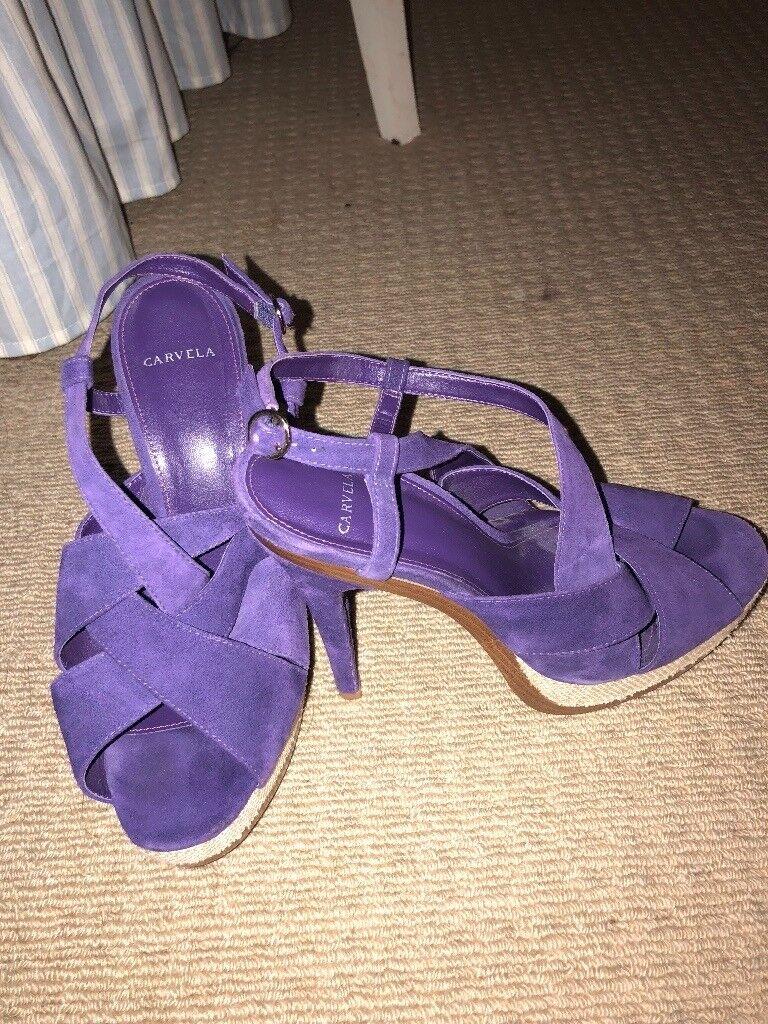Purple Carvela Heels