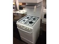 White revue 50cm eye level gas cooker grill & oven good condition with guarantee bargain