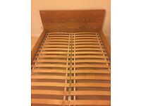 Ikea MALM double bed - excellent condition