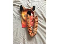 Dressing Up Tiger ears and tail