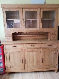 Lovely pine antique dresser/sideboard