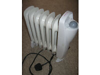 Oil radiator, small, 700W