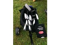 Ladies Golf Club Set With Bag and Trolley - Excellent Condition