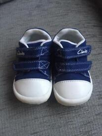 Clark's boys shoes - first steps cruisers 4F