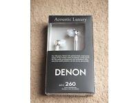 ( New ) Denon AHC260 In-Ear Headphones - Black £15