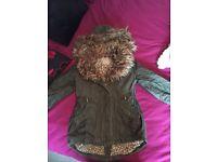 Girls coat 4-5 years
