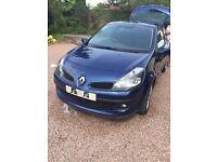 Renualt Clio Diesel Top Spec