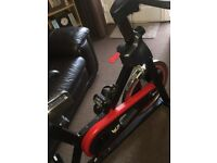 Professional spinning bike, hardly used. Excellent condition