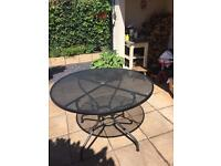Mesh garden table excellent quality