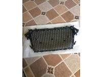 Audi b8.5 a4 honeycombe grille