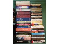 Personal Library for Sale. Books