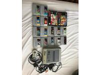 snes with games