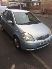 Toyota Yaris 1.0 petrol 5 door, very clean.