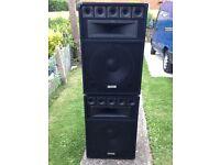 600w Ekho vx15 speakers
