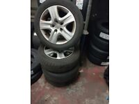 4 Astra/Zafira Wheels With Tyres