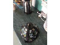 Lovely Tiffany effect lamp