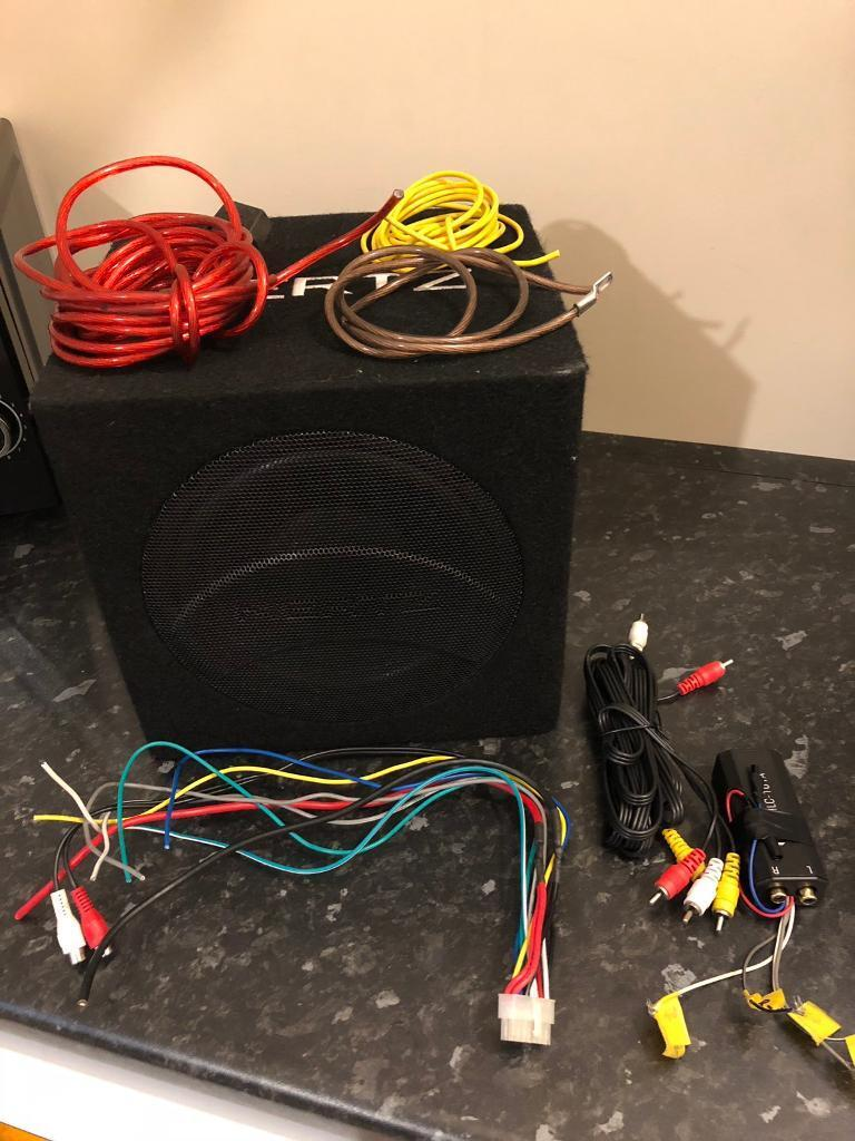 Hertz Dba 2003 Active Subwoofer 120 Ono In Cudworth South Powered Wiring 300w Power Amplifier