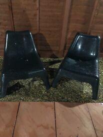Ikea Vago garden chairs
