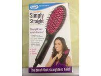 JML hair straightening brush