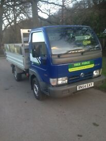 Nissan cabstar pickup tipper