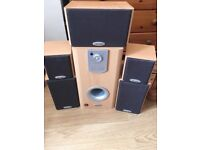 5.1 Surround Sound Home Cinema Speaker System