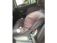 Britax car seat forward facing used as a spare for my mums car in good condition