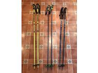 Ski Poles x 3 pairs
