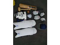 Cricket Gear with Bag