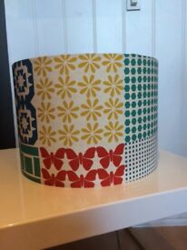Lampshade, handmade in Frome.