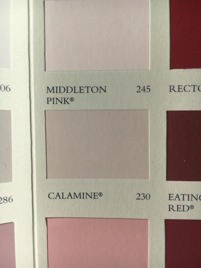 New 2.5L Tin of Farrow & Ball Calamine Pink Vinyl Matt Paint