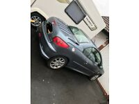 Peugeot 206cc convertible, 60,000 miles on the clock, immaculate condition inside and out.