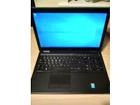 """Dell 15.6"""" 8GB RAM 256GB SSD i5-5300U 9+hrs battery Backlit keyb Win10Pro Latitude e5550 Delivery"""