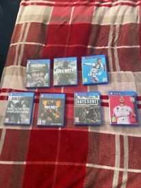 PlayStation 4 games, £10 each or £40 for all 7