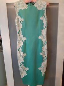 AX Paris mint green dress