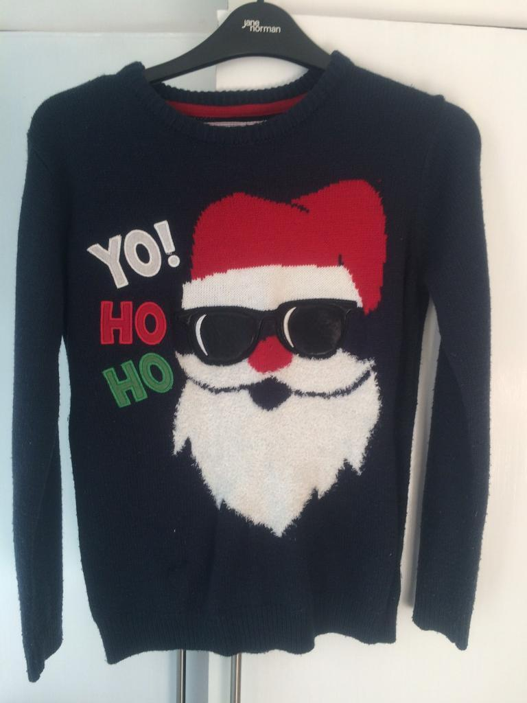 Christmas jumper Age 11-12