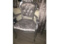 French style carver chair