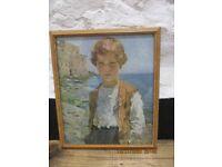 Framed Print - Young Boy