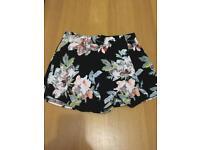 Girls fabric shorts